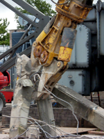 Ram Services Limited - Controlled Demolition - Concrete Bursting and Crunching
