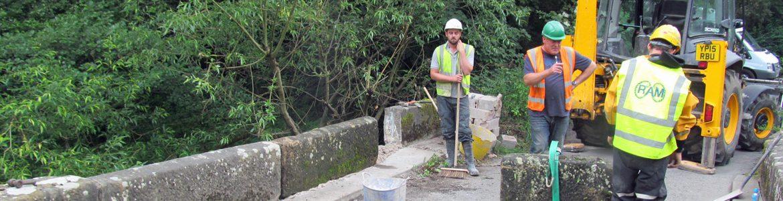 Ram Services Limited - Masonry Bridge Repairs