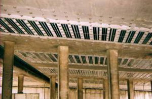 Steel and carbon fibre FRP plate bonding