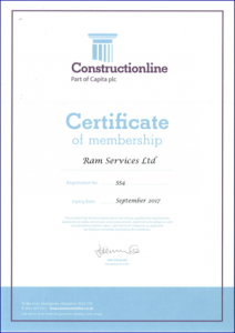 Ram Services Limited - Constructionline