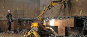 Ram Services Limited - Controlled Demolition with Brokk 90