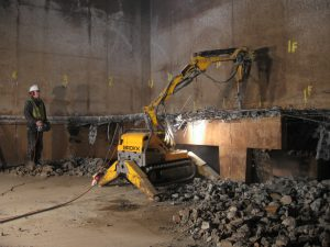 Ram Services Limited - Controlled Demolition - Concrete Bursting - Concrete Crunching