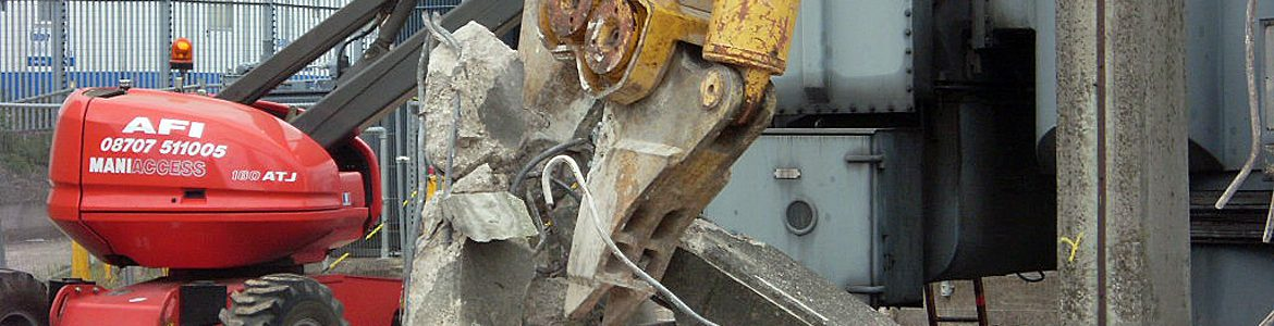 Ram Services Limited - Controlled Demolition Concrete Crunching