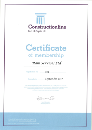 env 175 - Ram Services Limited