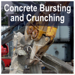 Concrete Bursting and Crunching