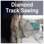 Diamond Track Sawing